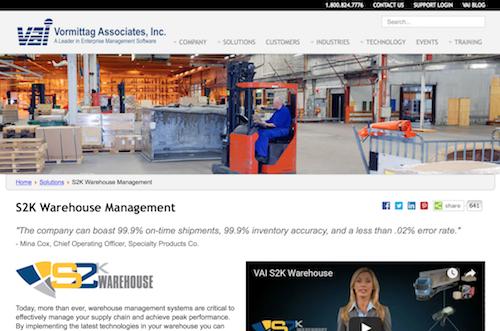 S2K Warehouse Management