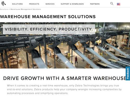 Zebra Warehouse Management Solutions