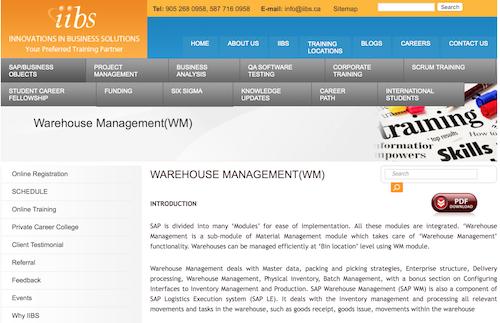 iibs-warehouse-management-wm
