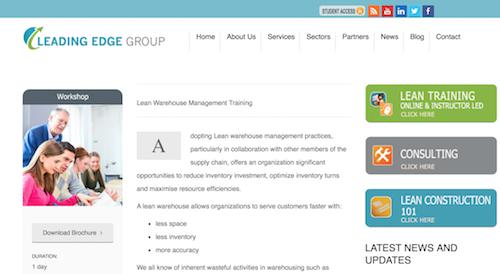 lean-warehouse-management-training