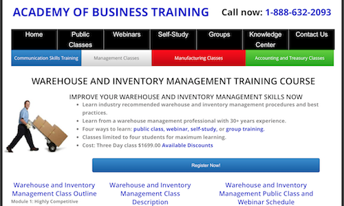 warehouse-and-inventory-management-training-course