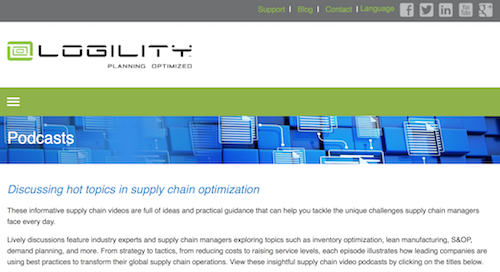 logility-supply-chain-optimization-podcasts
