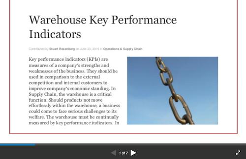 warehouse-key-performance-indicators