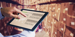 supply chain logistics via a tablet