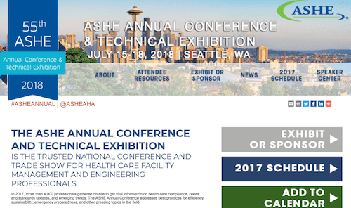 55th ASHE Annual Conference & Technical Exhibition