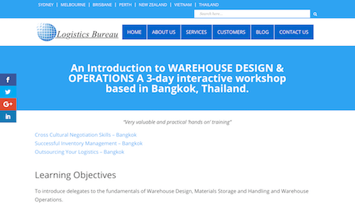An Introduction to Warehouse Deisgn & Operations