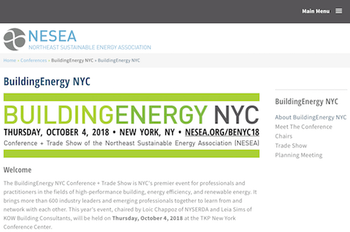 BuildingEnergy NYC Conference + Trade Show