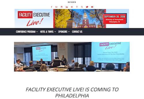 Facility Executive Live!