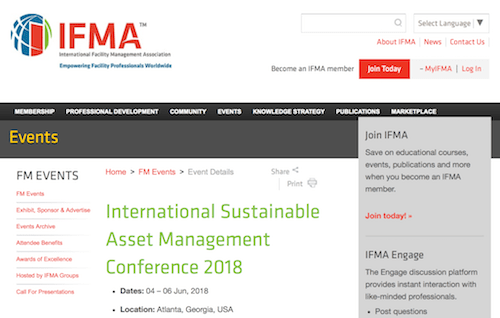 International Sustainable Asset Management Conference