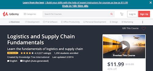 Logistics and Supply Chain Fundamentals