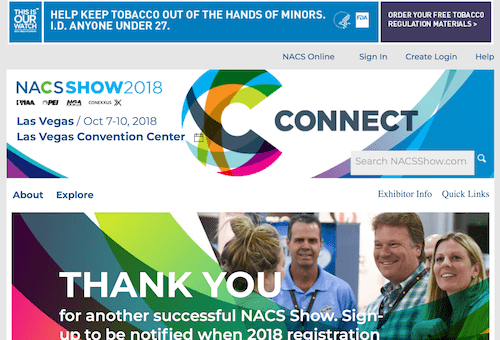 NACS Show 2018
