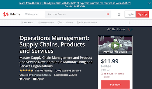 Operations Management Supply Chains, Products and Services