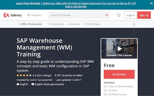 SAP Warehouse Management (WM) Training