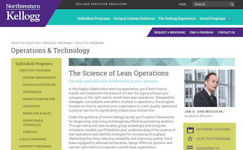 The Science of Lean Operations Management
