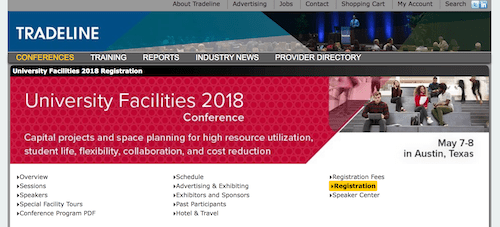 Tradeline University Facilities 2018 Conference
