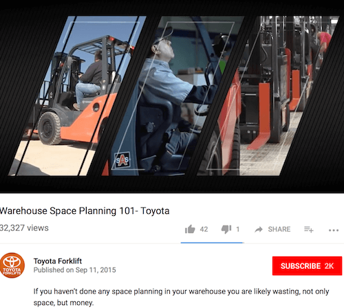 Warehouse Space Planning 101 - Toyota