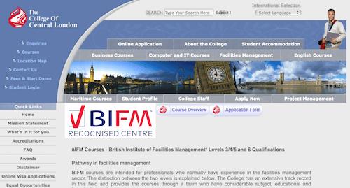 British Institute of Facilities Management Pathways in Facilities Management