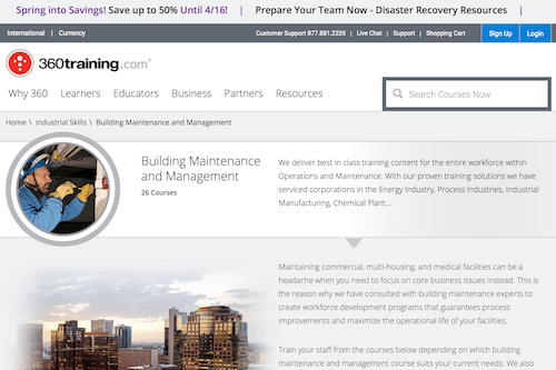 Building Maintenance and Management Courses
