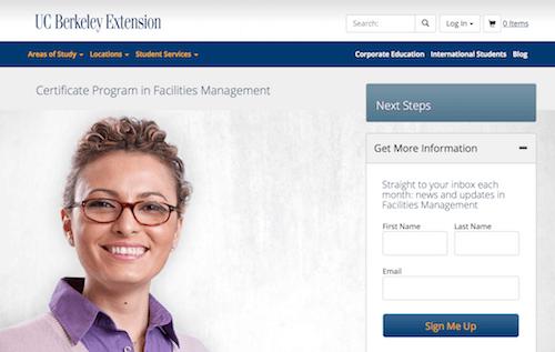 Certificate Program in Facilities Management
