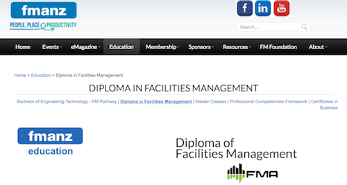 Diploma in Facilities Management