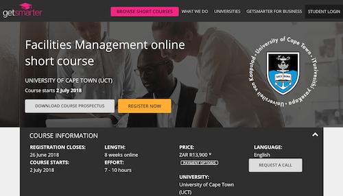 Facilities Management Online Short Course