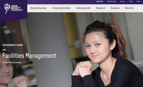 MSc Facilities Management Course
