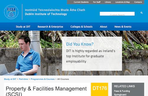 Property & Facilities Management (SCSI)
