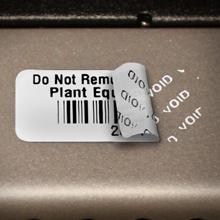 Tamper-Evident Barcode Labels