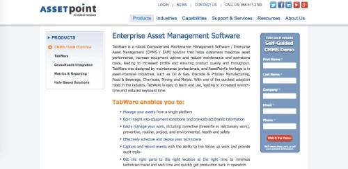 AssetPoint TabWare EAM