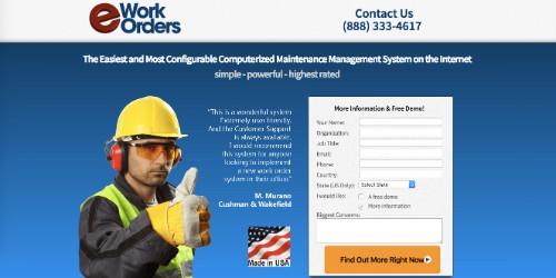 eWork Orders CMMS