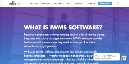 iOffice Corp IWMS
