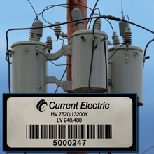 Metal Barcode Labels for Utility Asset Tracking Applications