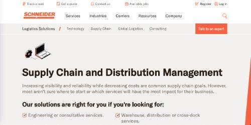 Schneider Supply Chain